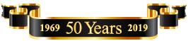 Dataprobe 50 year banner 1969 - 2019