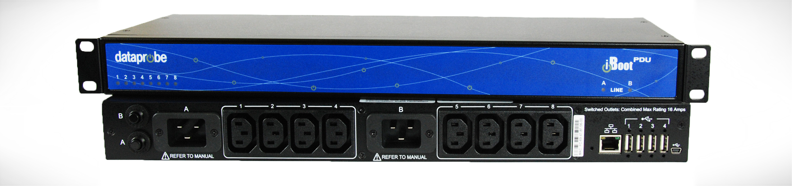 Power Distribution Unit model iBoot-PDU8-2C20