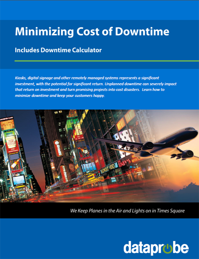 Cost of Downtime eBook and Calculator